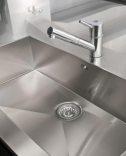 Is the stainless steel faucet okay?